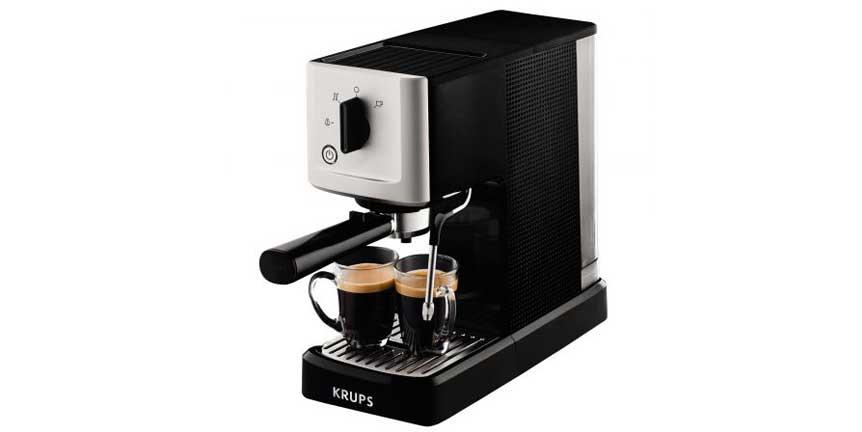 Review espressor cafea Krups Calvi XP3440 Silver