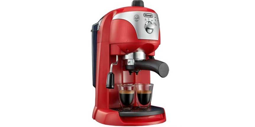 Review expresor cafea profesional Delonghi EC221.R